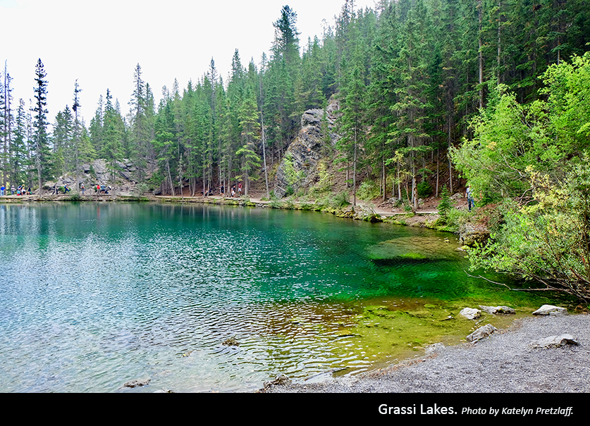 Grassi Lakes Photo by Katelyn Pretzlaff