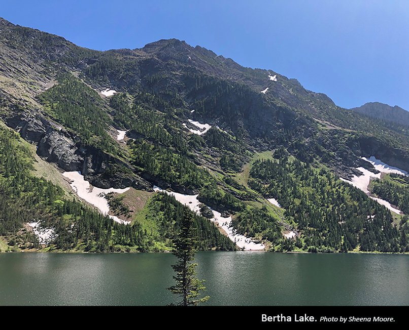 Bertha Lake Photo by Sheena Moore