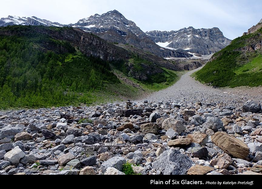Plain of Six Glaciers Photo by Katelyn Pretzlaff