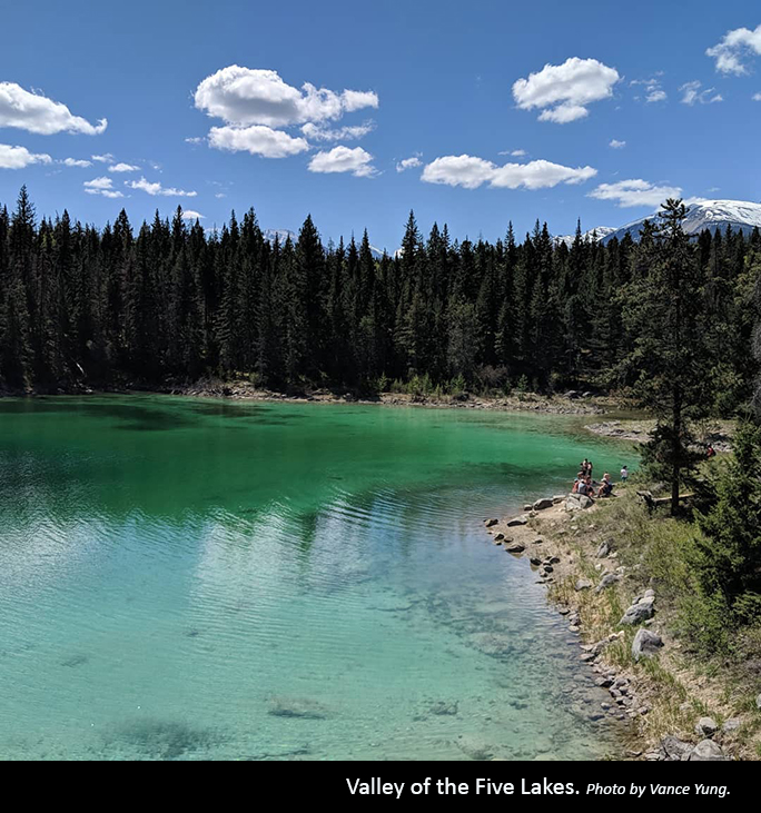 Valley of the Five Lakes Photo by Vance Yung